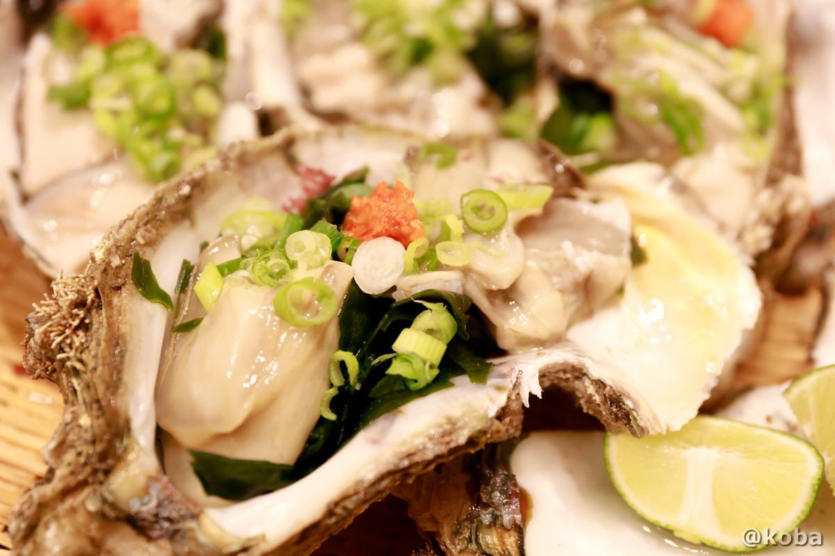 徳島産 岩カキの写真 玉寿司 東京都葛飾区 新小岩 ブログ