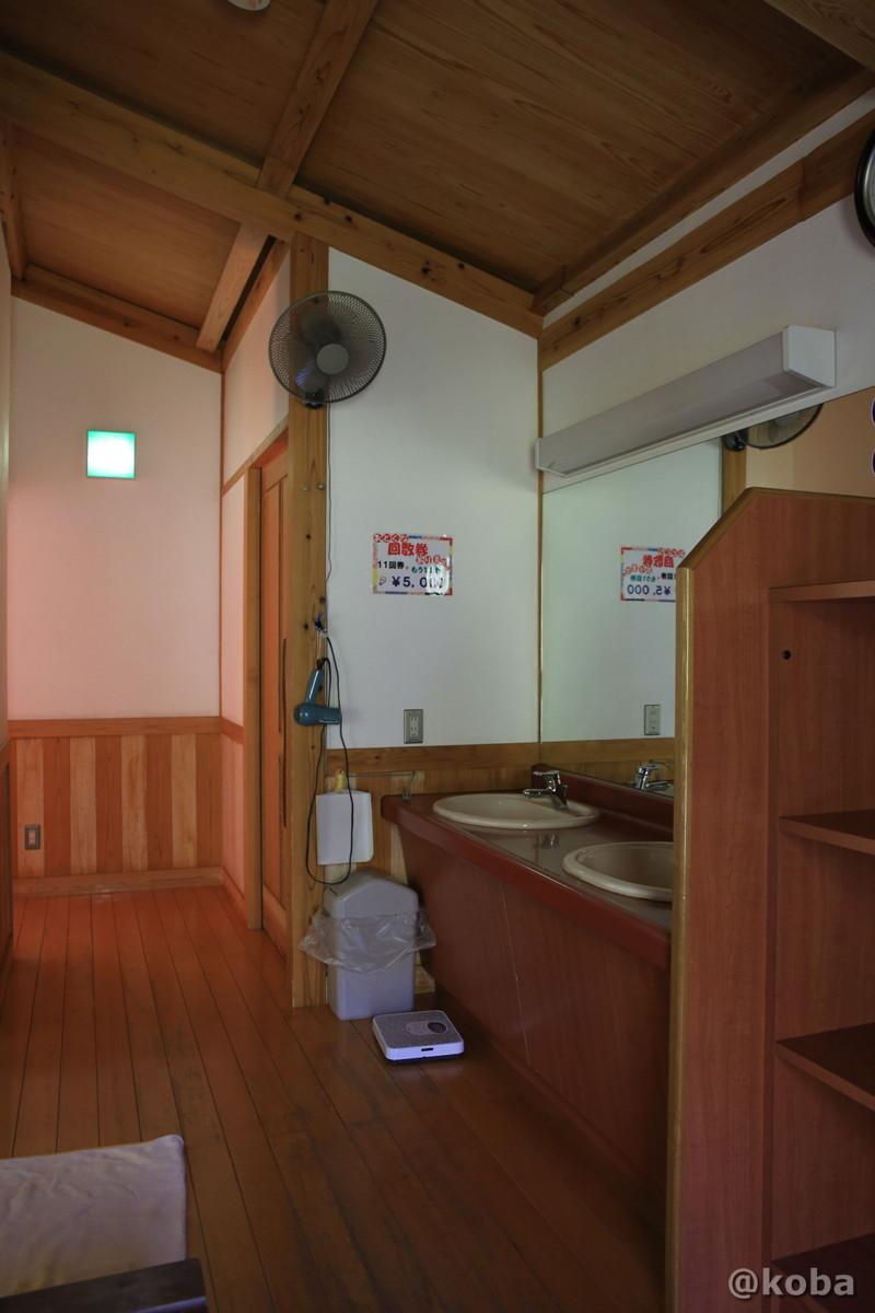 洗面 脱衣場 開運の湯(かいうんのゆ)日帰り入浴 栃木 日光 ブログ