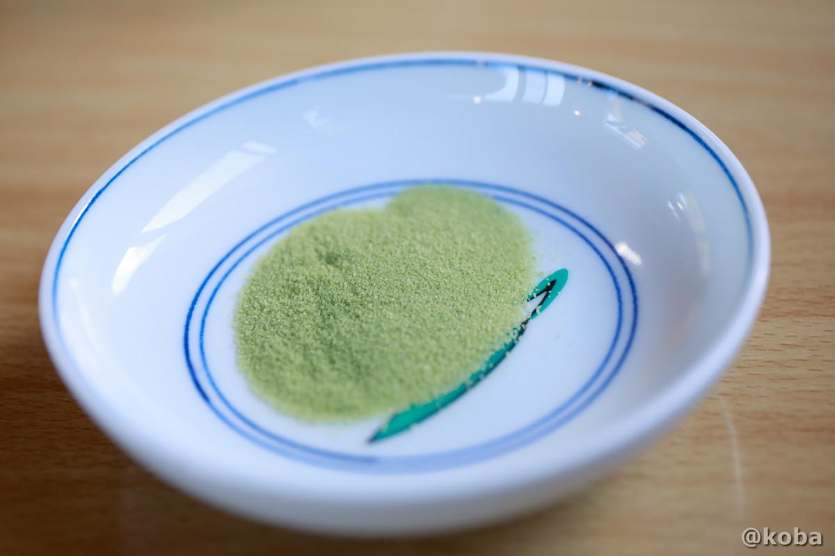 抹茶塩の写真 そば処ひなた 栃木 日光 ブログ