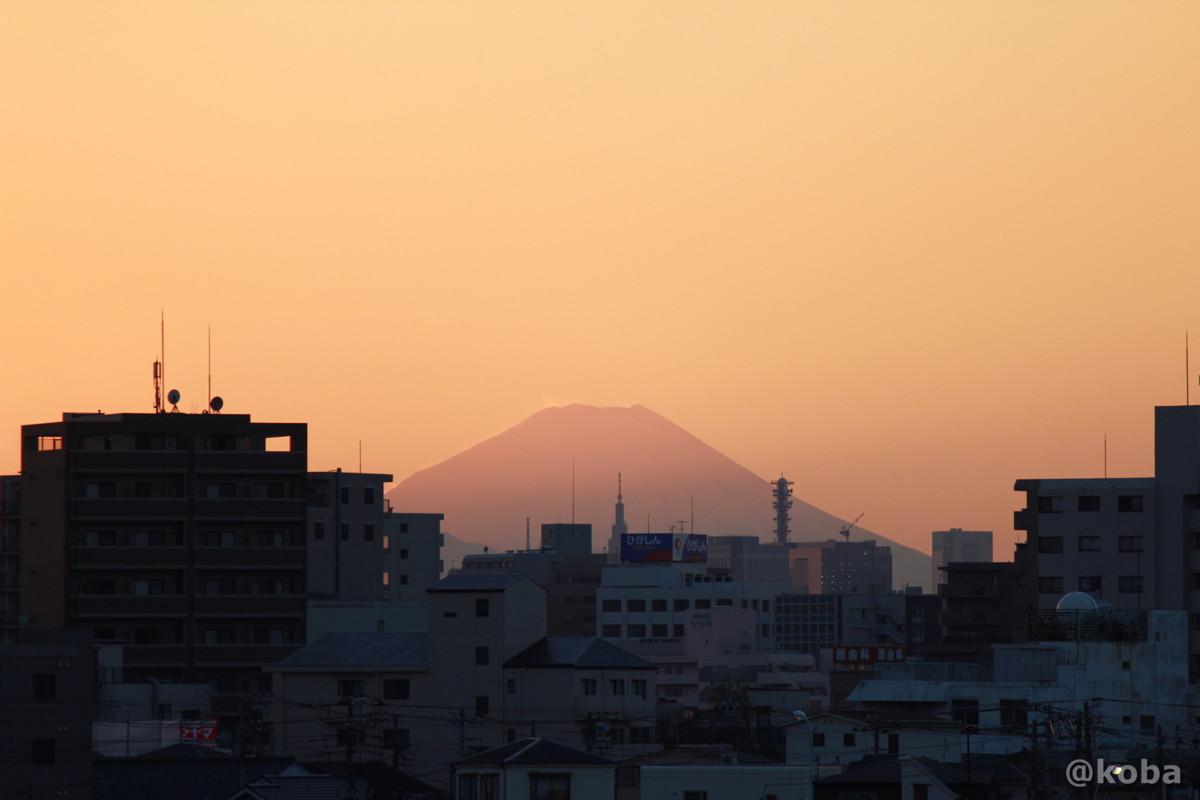 富士山の写真 四つ木 東京スカイツリー 夕方 Canon EOS Kiss X5_EF-S55-250mm f-4-5.6 IS II
