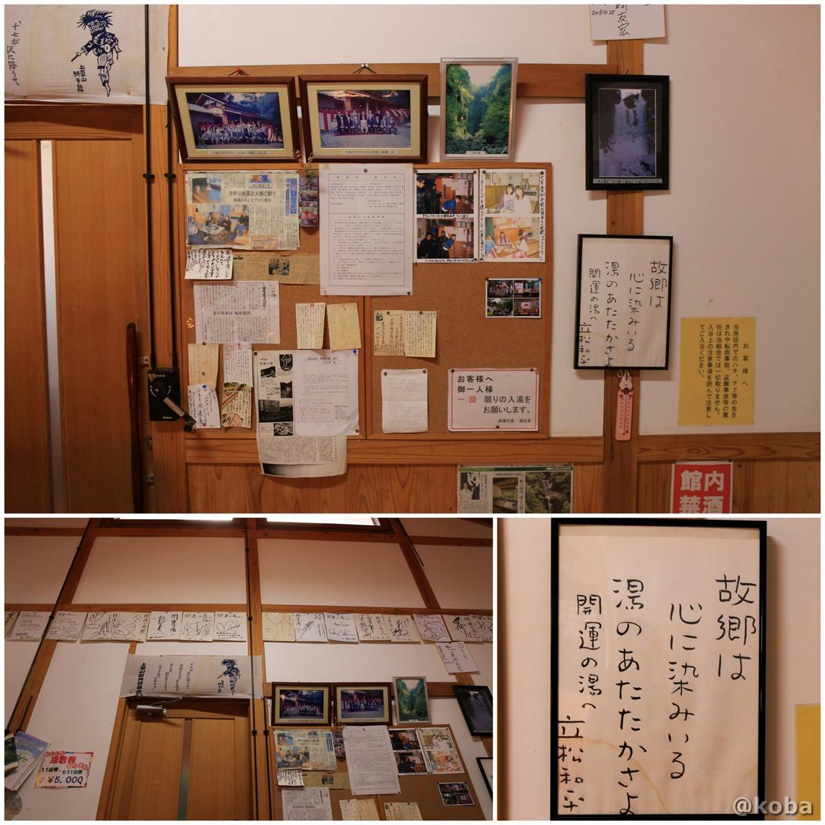 内観の写真 開運の湯(かいうんのゆ)日帰り入浴 栃木 日光 ブログ