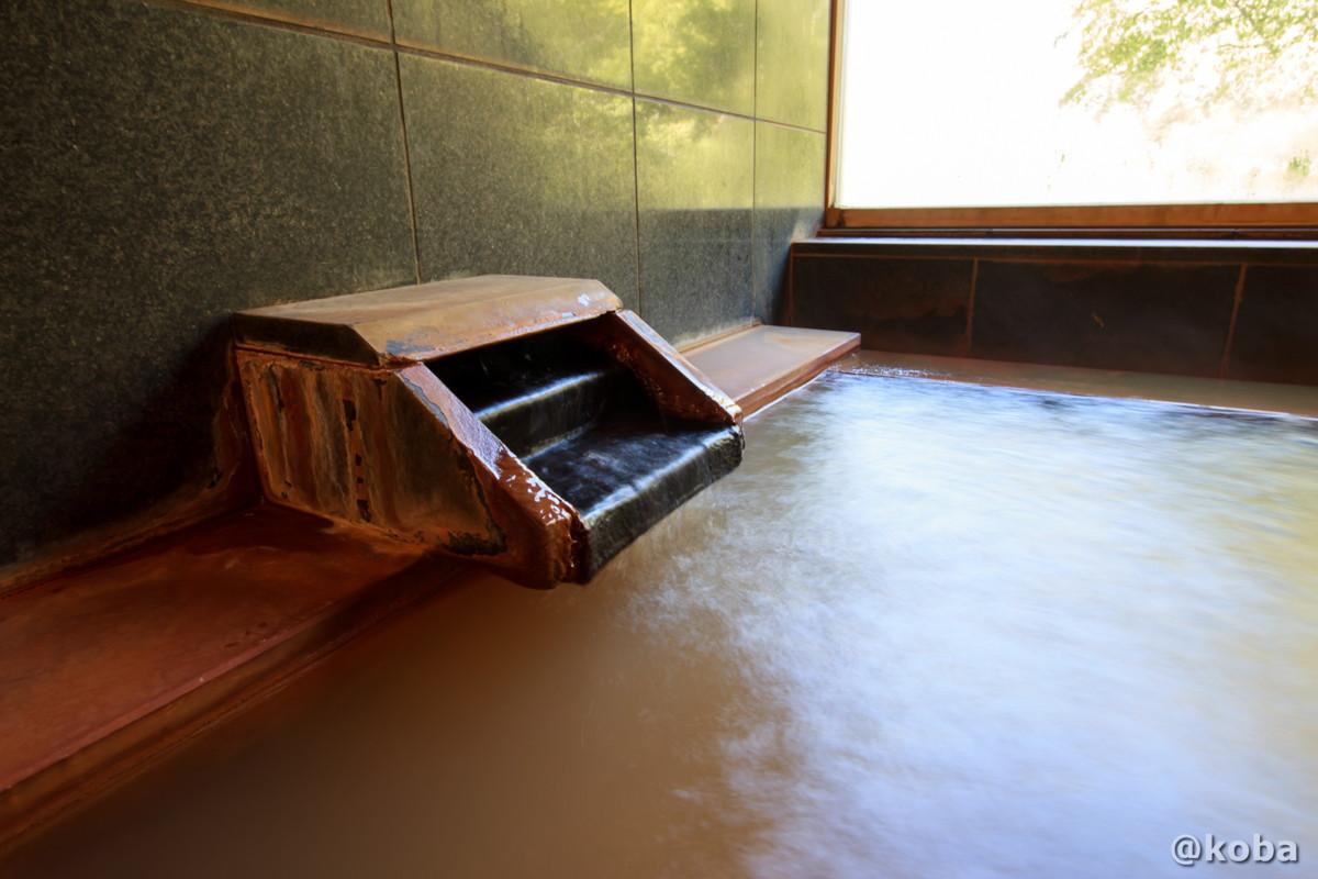源泉かけ流し 鉄分の多い黄褐色 開運の湯(かいうんのゆ)日帰り入浴 栃木 日光 ブログ