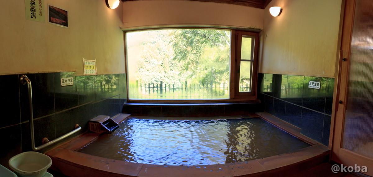 浴室 パノラマ写真 開運の湯(かいうんのゆ)上栗山温泉 日帰り入浴 栃木 日光 ブログ