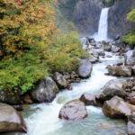 落差55m苗名滝(なえなたき)Naena Waterfall 新潟県上水内郡妙高市杉野 ブログ