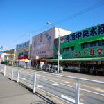 新潟「日本海の魚介を満喫!」寺泊魚の市場通り(魚のアメ横)食べ歩き