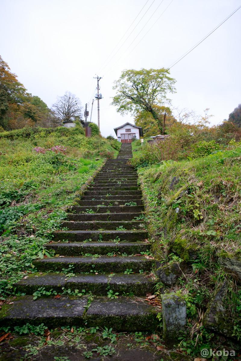 長い階段の写真│燕温泉 │新潟県妙高市 ブログ