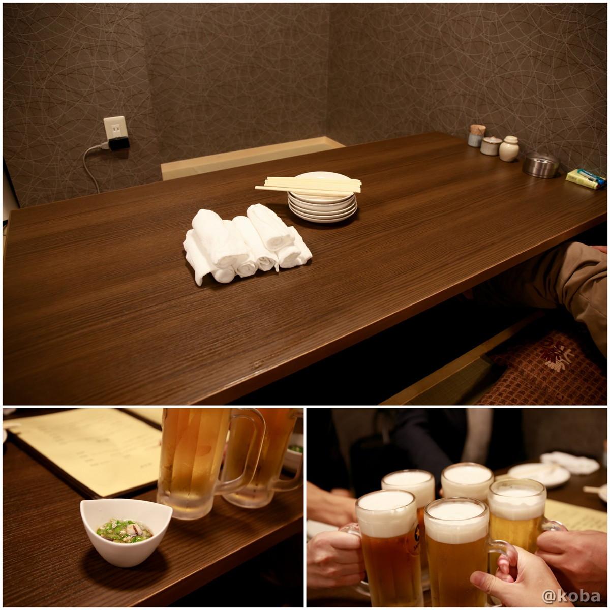 内観の写真 生ビールで乾杯♪ 彩波(いろは)居酒屋 東京都葛飾区・新小岩 ブログ