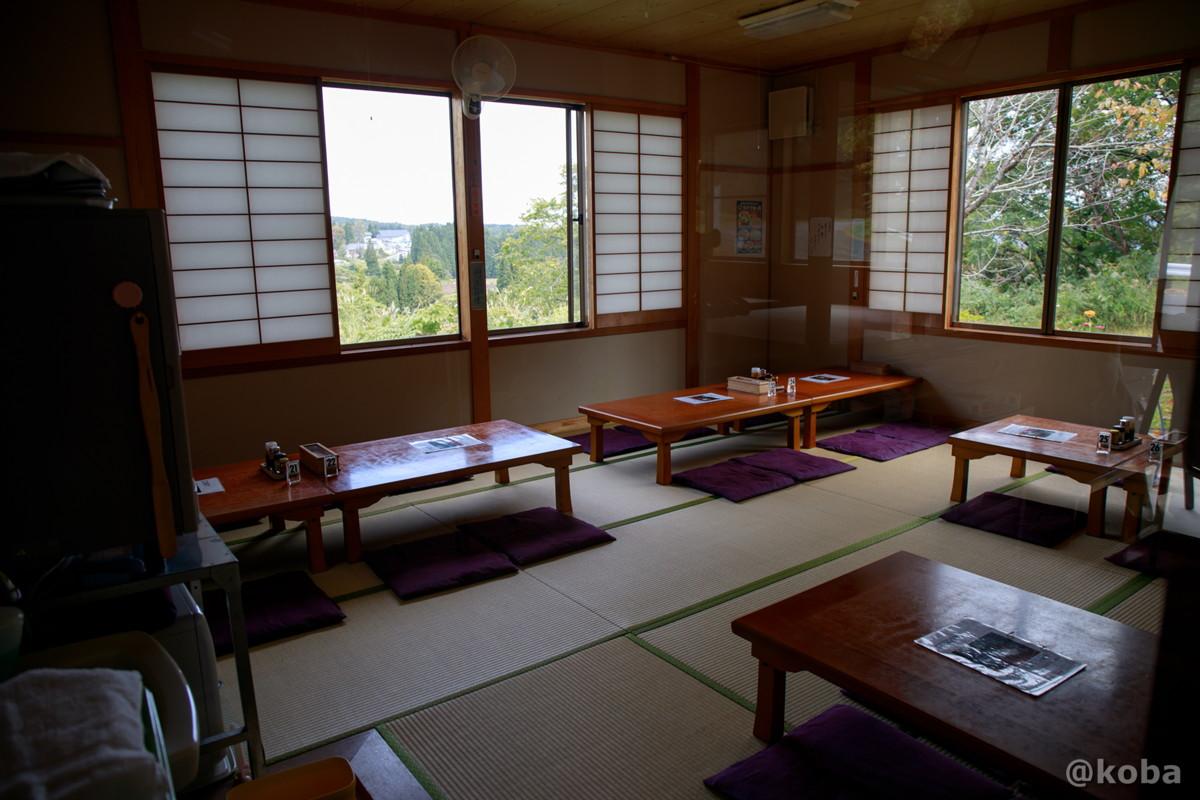内観 座敷席の写真 そば処たかさわ 蕎麦ランチ 食事処 長野県 ブログ