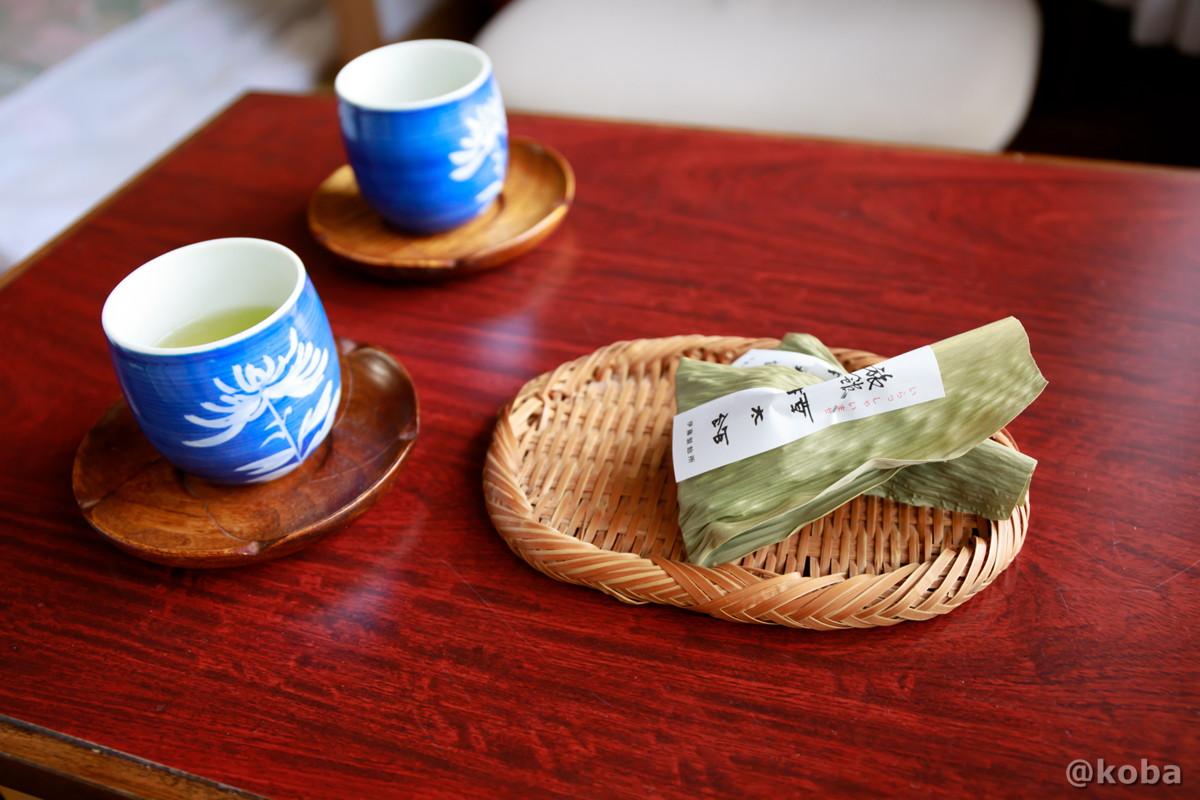 お茶菓子の写真 燕温泉 樺太館(つばめおんせん からふとかん)新潟県 妙高市