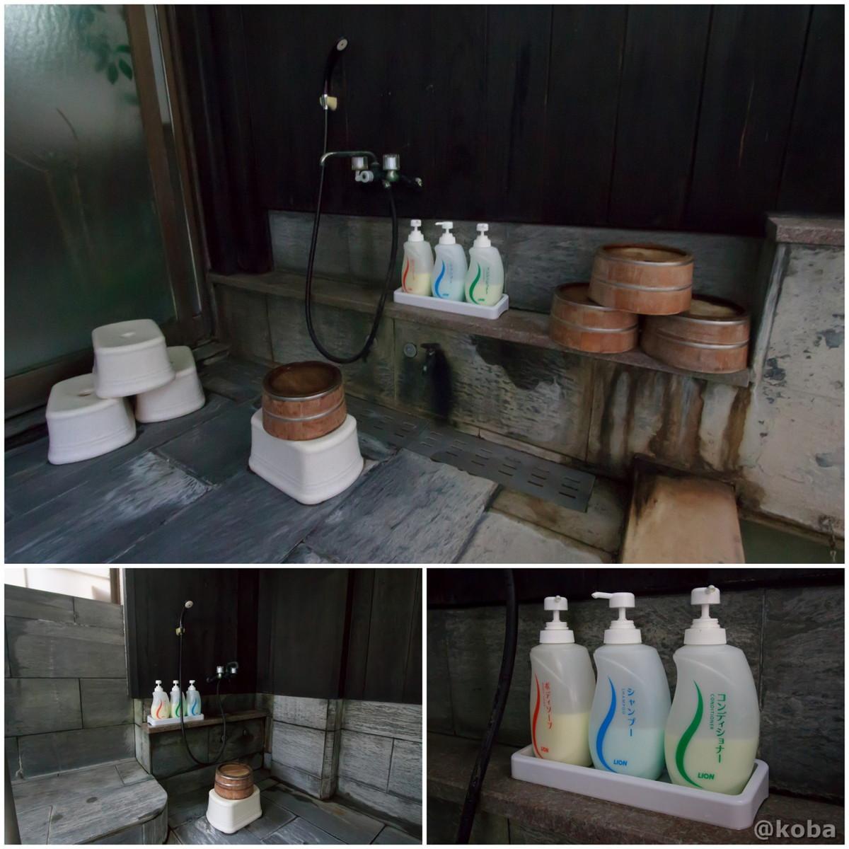 洗い場の写真 燕温泉 樺太館(つばめおんせん からふとかん)新潟県 妙高市