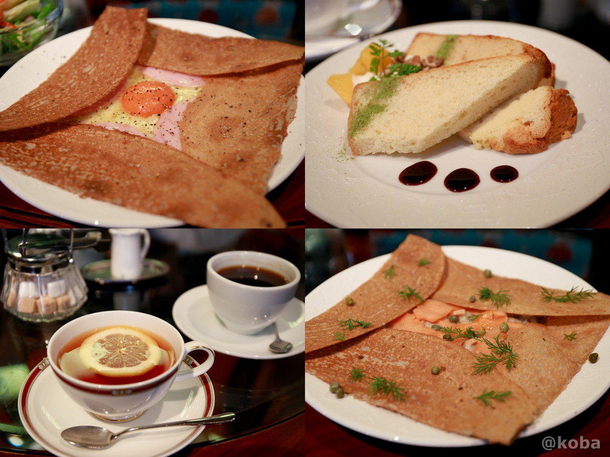 ガレット・コーヒー・紅茶・シフォンケーキ│カフェ・ドローム(CAFE・DROME)│群馬県富岡市