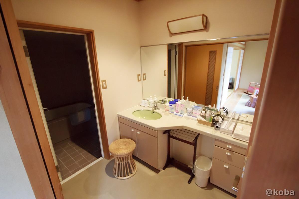 洗面室の写真│たんげ温泉 美郷館(みさとかん)│群馬県 吾妻郡