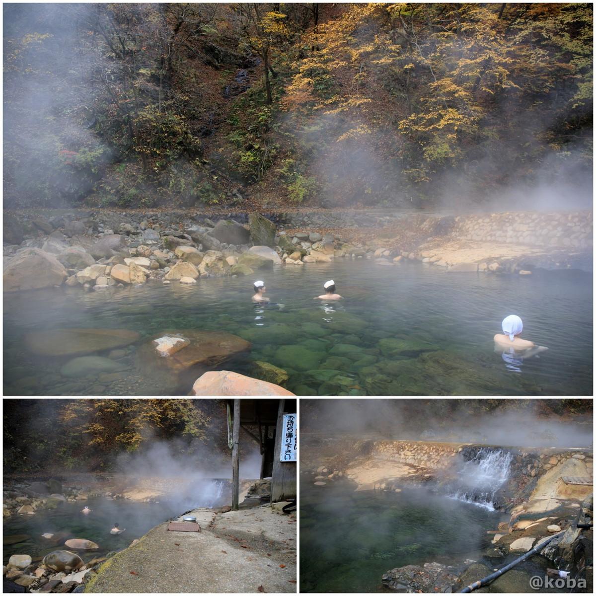 川の湯、入浴の写真│尻焼温泉(しりやきおんせん)川の湯 日帰り入浴│群馬県 ブログ