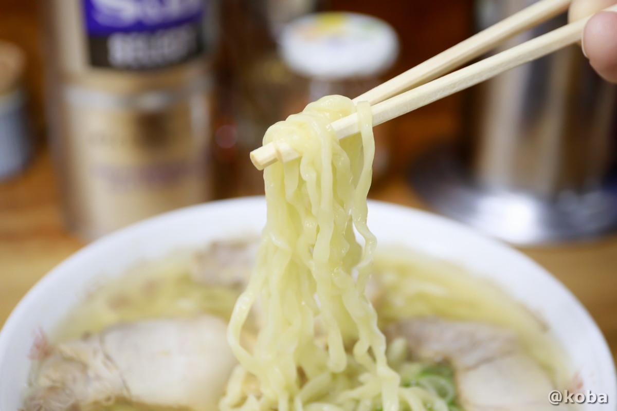 喜多方ラーメン しなそば中太縮れ麺の写真│坂内食堂(ばんないしょくどう)本店 らーめん│福島県 喜多方ブログ