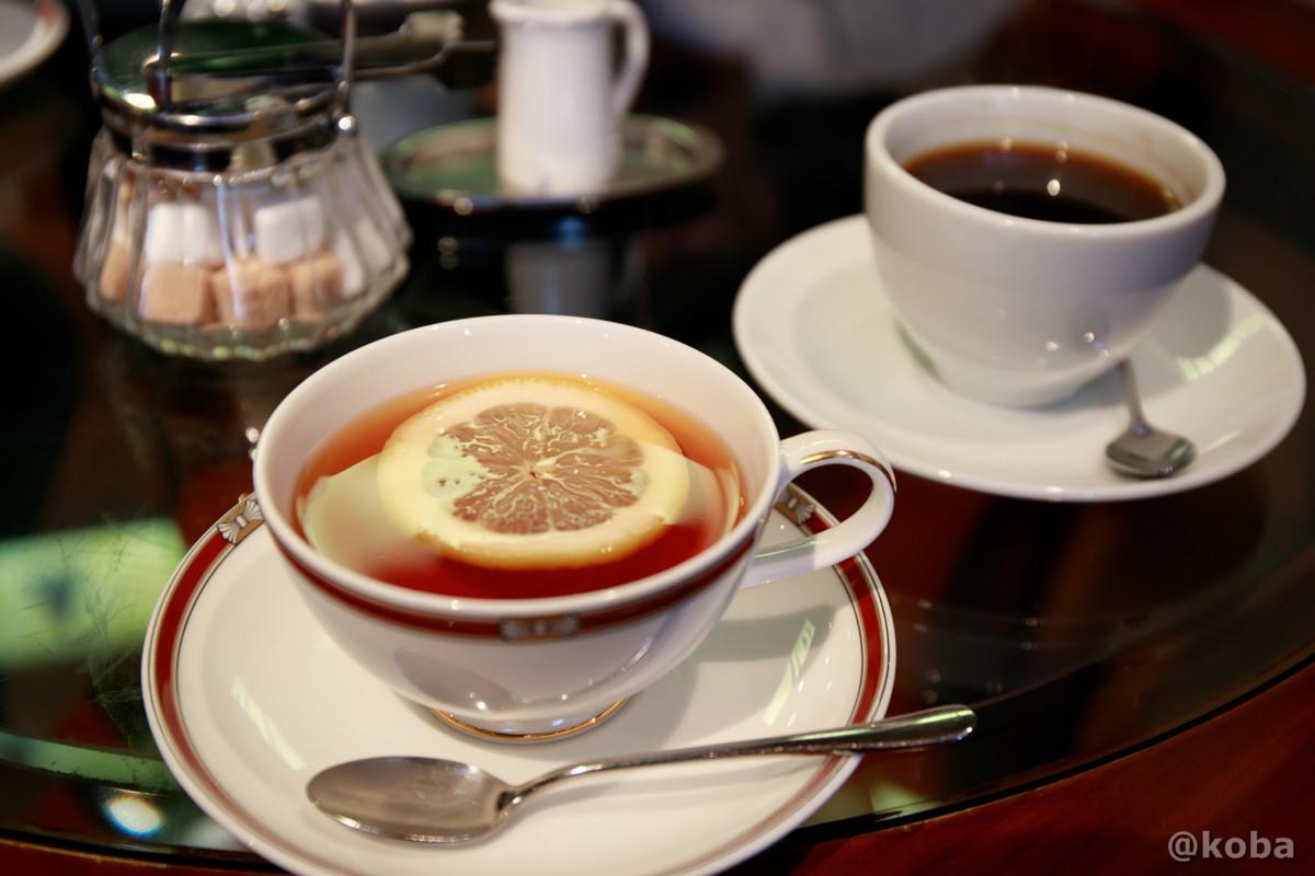 紅茶とコーヒーの写真│カフェ・ドローム(CAFE・DROME)│群馬県富岡市