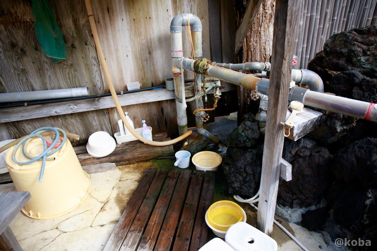 洗い場の写真│京塚温泉・しゃくなげの湯 日帰り入浴│群馬県 ブログ