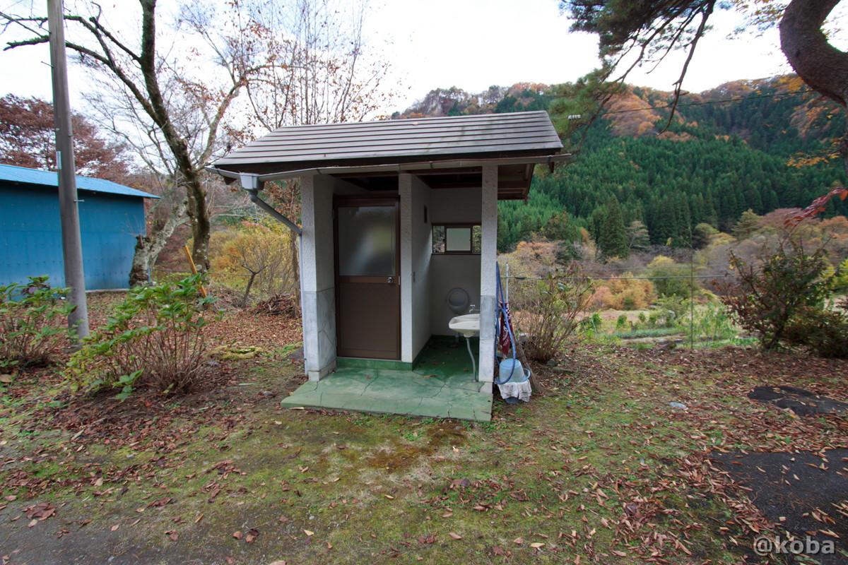 トイレの写真│牧水会館(ぼくすいかいかん)旧大石学校│群馬県 ブログ