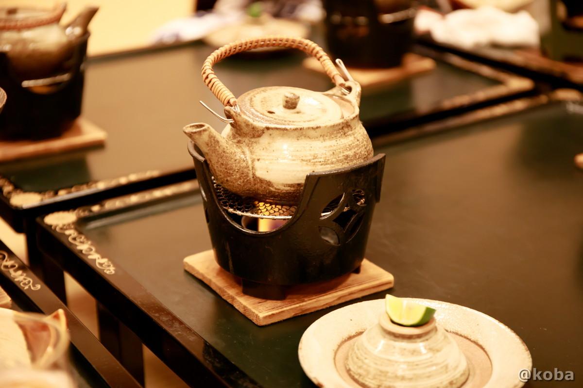 舞茸の土瓶蒸し│たんげ温泉 美郷館(みさとかん)│群馬県 吾妻郡