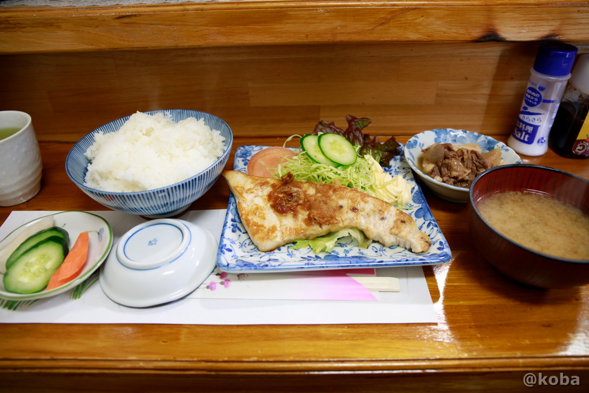 生メカジキステーキ定食│味館食堂(みたてしょくどう) │千葉県市川・南行徳駅