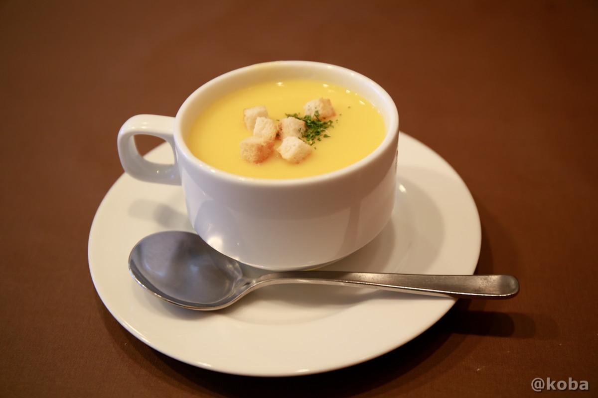 コーンスープの写真│洋食工房ヒロ(ようしょくこうぼうひろ) 洋食ランチ│東京都葛飾区・立石 ブログ