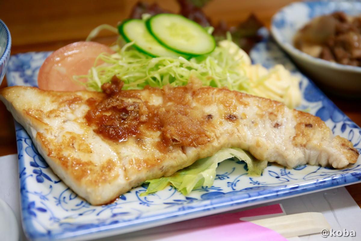 生メカジキステーキの写真│味館食堂(みたてしょくどう) │千葉県市川・南行徳駅