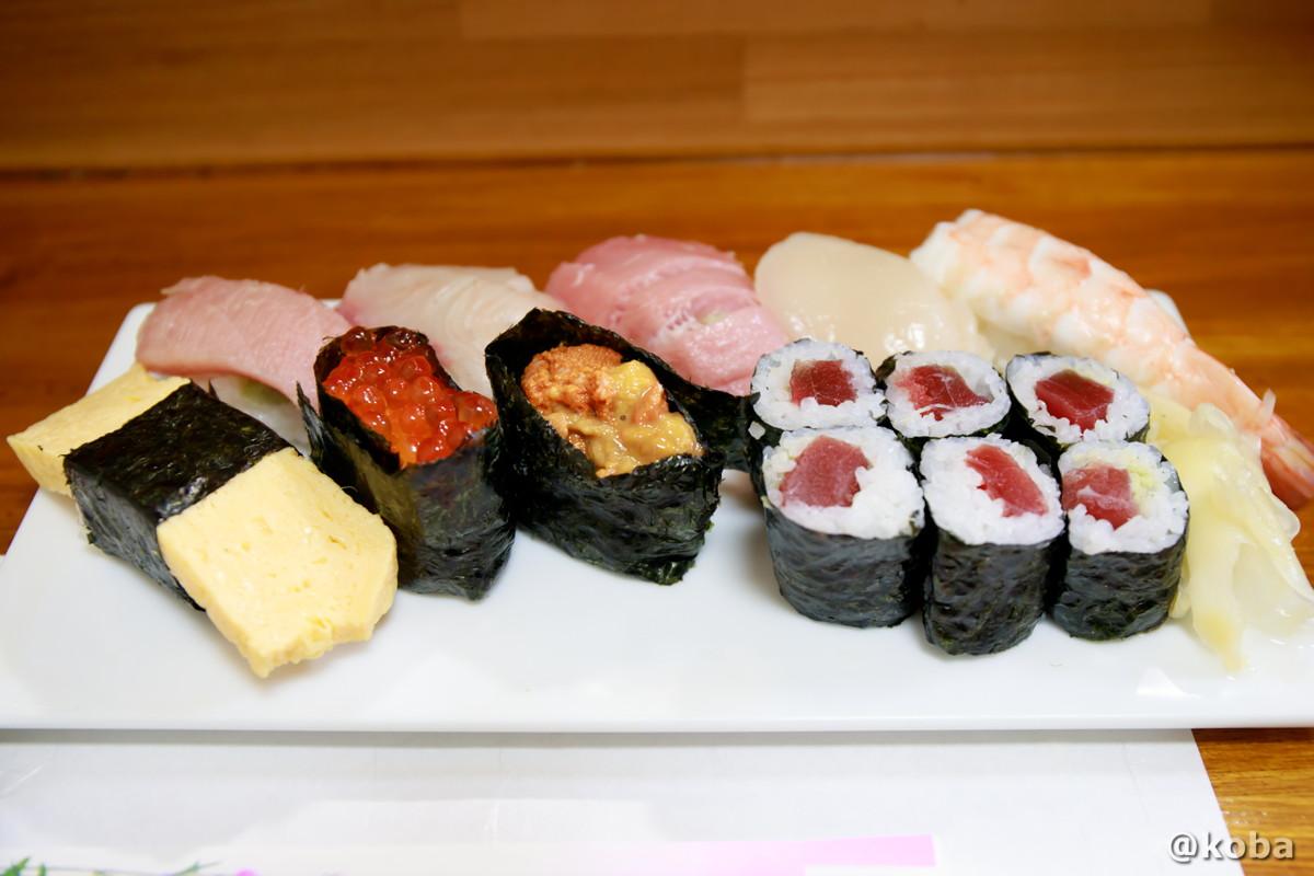 寿司 特選にぎり│味館食堂(みたてしょくどう) │千葉県市川・南行徳駅