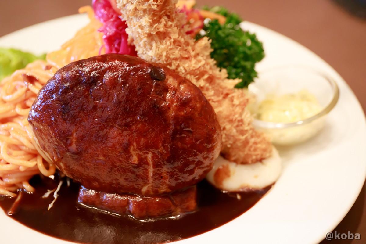 ハンバーグの写真│洋食工房ヒロ(ようしょくこうぼうひろ) 洋食ランチ│東京都葛飾区・立石 ブログ