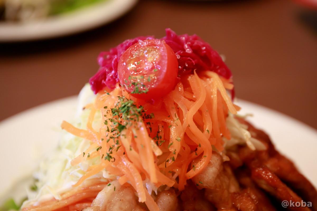 サラダの写真│洋食工房ヒロ(ようしょくこうぼうひろ) 洋食ランチ│東京都葛飾区・立石 ブログ