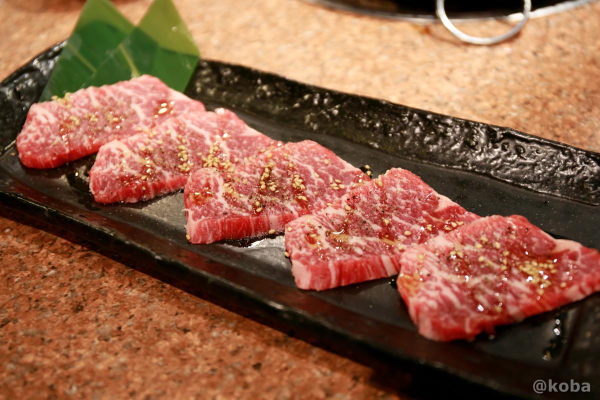 塩ロース 1,480円の写真│炭火焼肉 矢つぐ(やつぐ)│東京都江戸川区・新小岩 ブログ