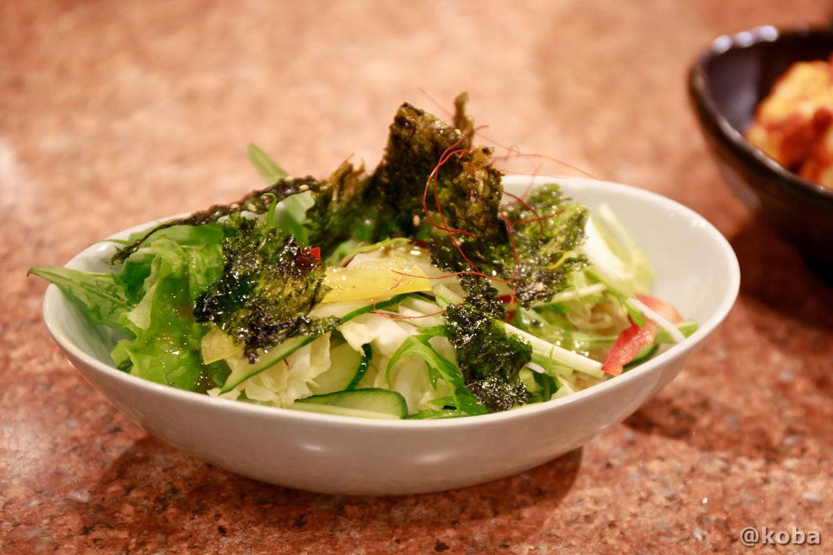 サラダの写真│炭火焼肉 矢つぐ(やつぐ)│東京都江戸川区・新小岩