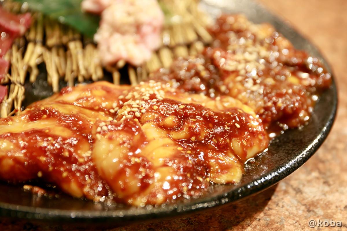 新鮮なホルモンの写真│炭火焼肉 矢つぐ(やつぐ)│東京都江戸川区・新小岩