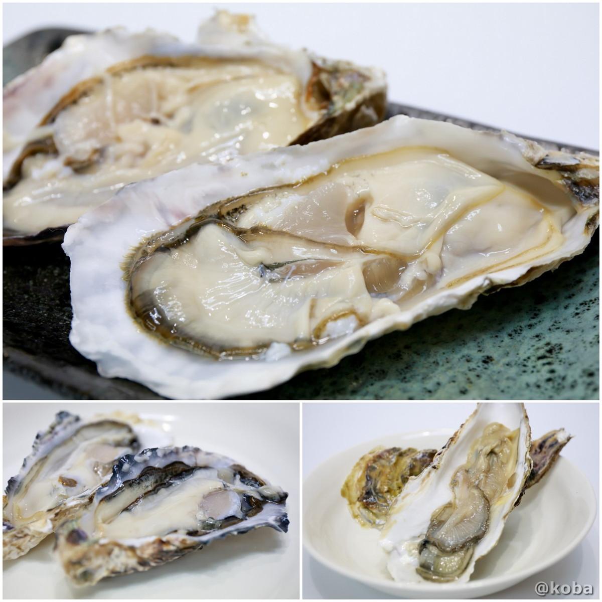 生牡蠣の写真