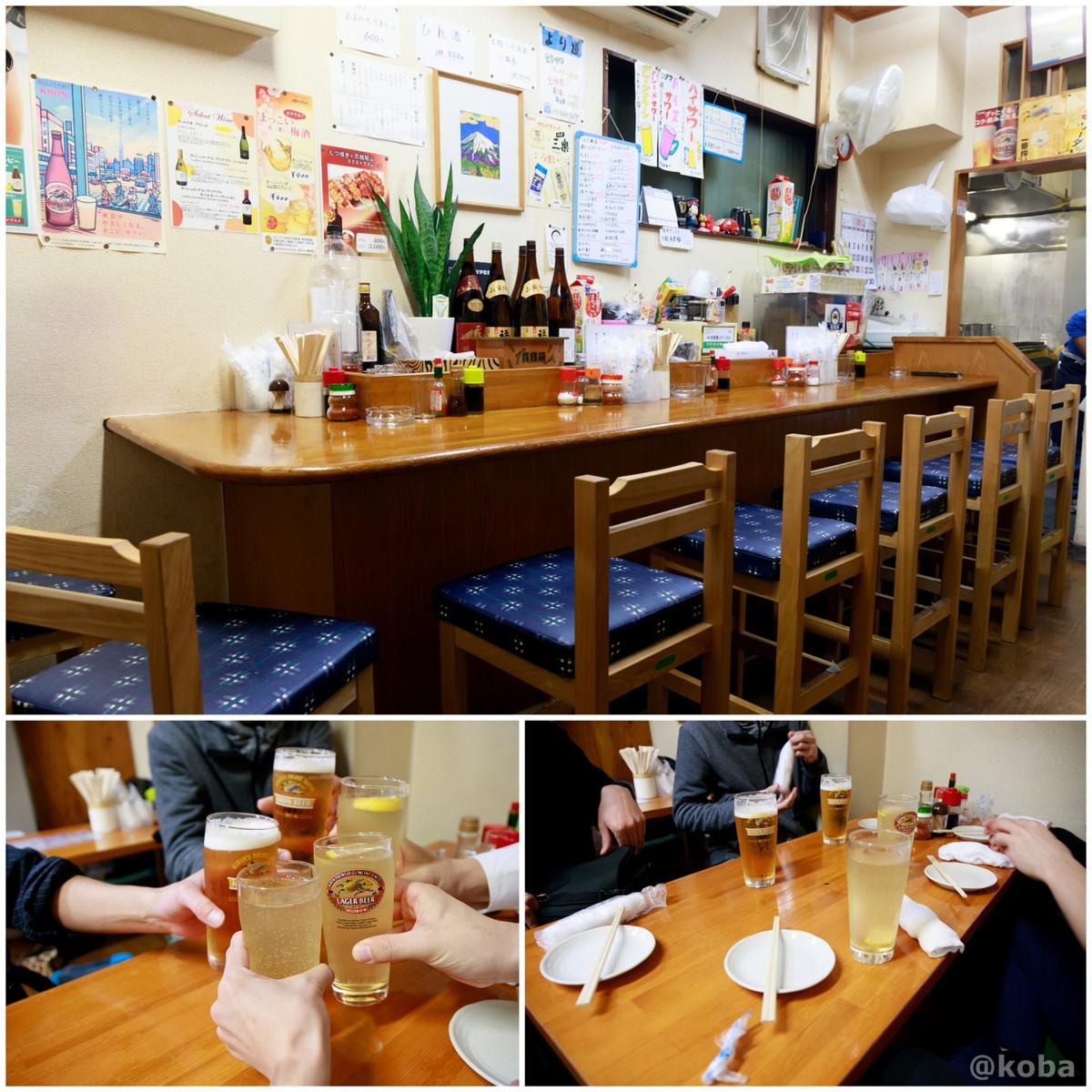 内観 カウンター席と小上がり座敷席の写真|居酒屋 より道|東京都葛飾区・京成青砥