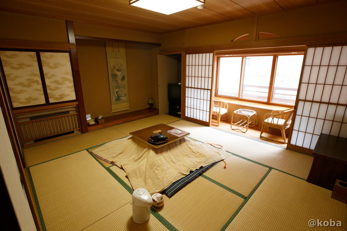 和室10畳の写真|内山峠 初谷温泉(うちやまとうげ しょやおんせん)|長野県佐久市