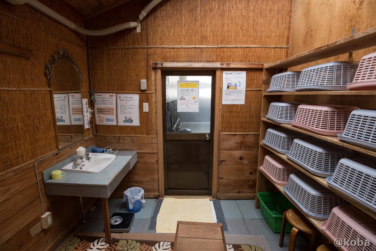 脱衣場の写真|八千代温泉 芹の湯|日帰り入浴|群馬県