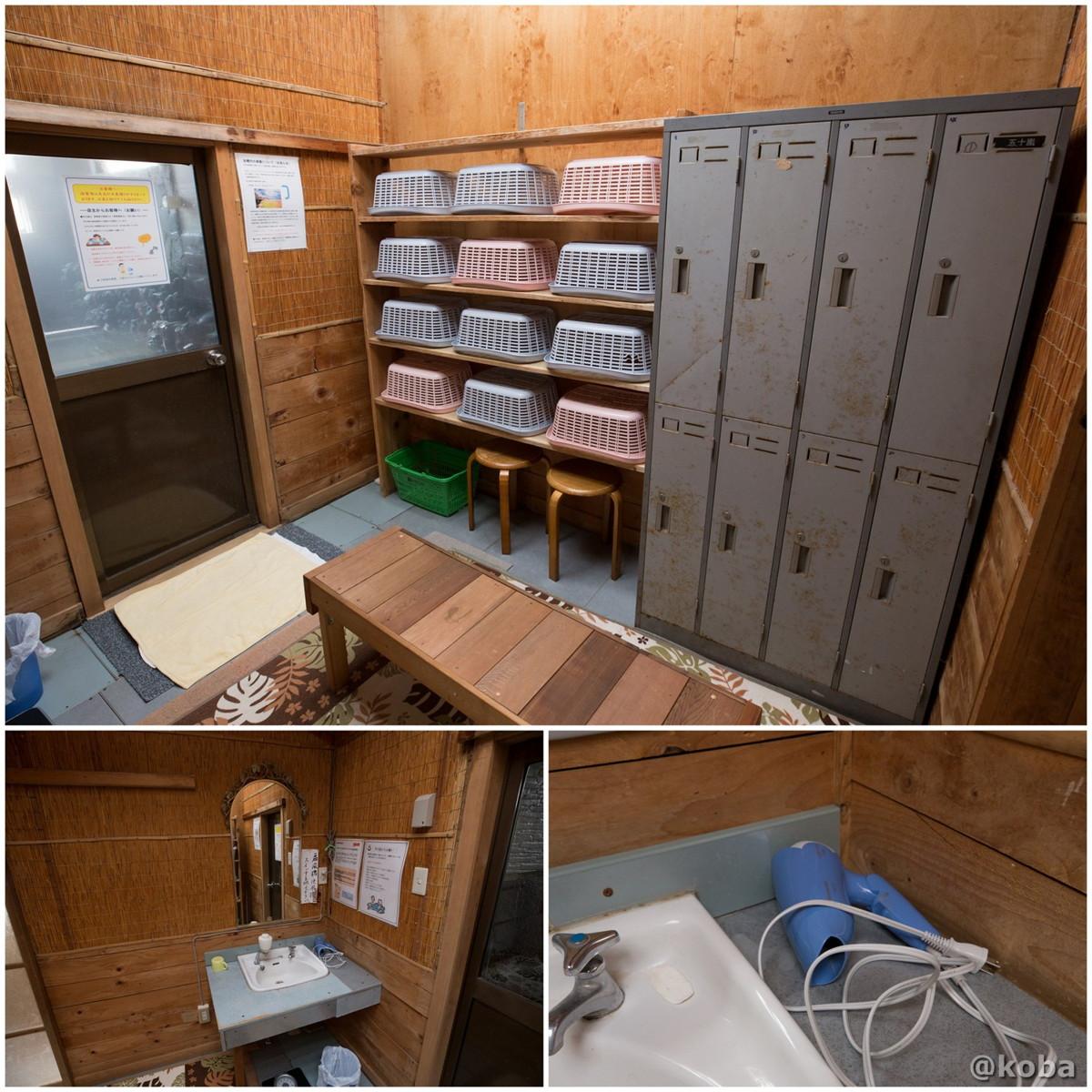 脱衣場・ドライアーの写真|八千代温泉 芹の湯|日帰り入浴|群馬県