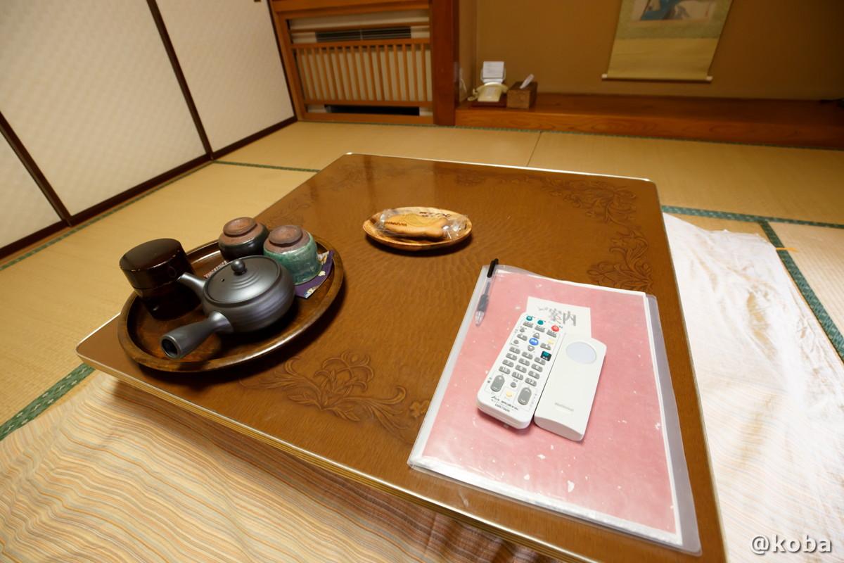 お茶菓子の写真|内山峠 初谷温泉(うちやまとうげ しょやおんせん)|長野県佐久市