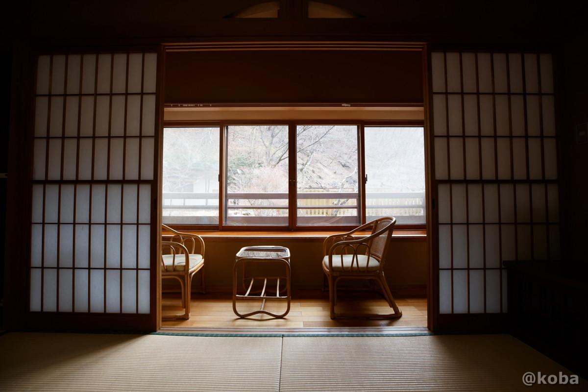 広縁の写真|内山峠 初谷温泉(うちやまとうげ しょやおんせん)|長野県佐久市