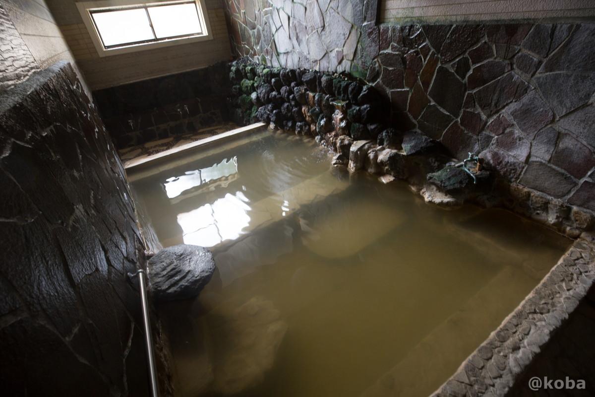 2層に別れている浴槽の写真|八千代温泉 芹の湯|日帰り入浴|群馬県