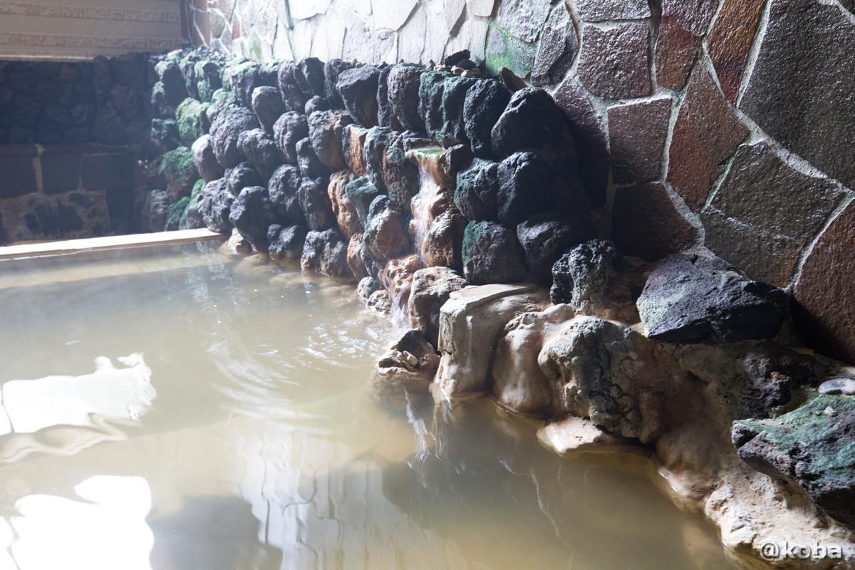 湯口の写真|八千代温泉 芹の湯|日帰り入浴|群馬県