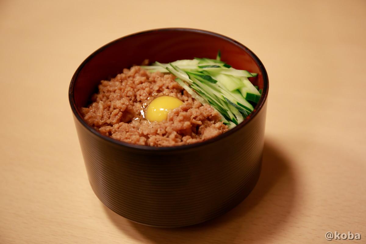 鶏そぼろ丼ミニ|大衆酒蔵 鳥益(とります)焼鳥・居酒屋|東京都葛飾区・新小岩
