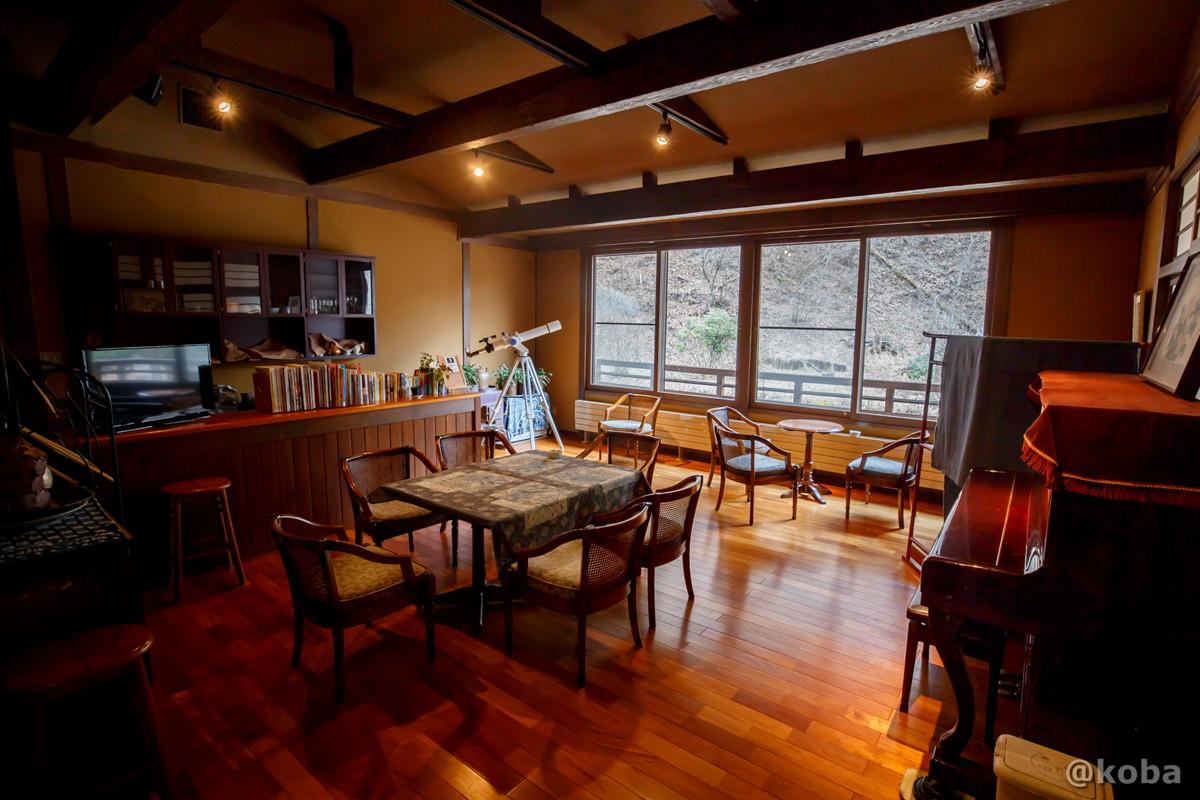 湯上がり休憩室・談話室の写真|内山峠 初谷温泉(うちやまとうげ しょやおんせん)|長野県佐久市