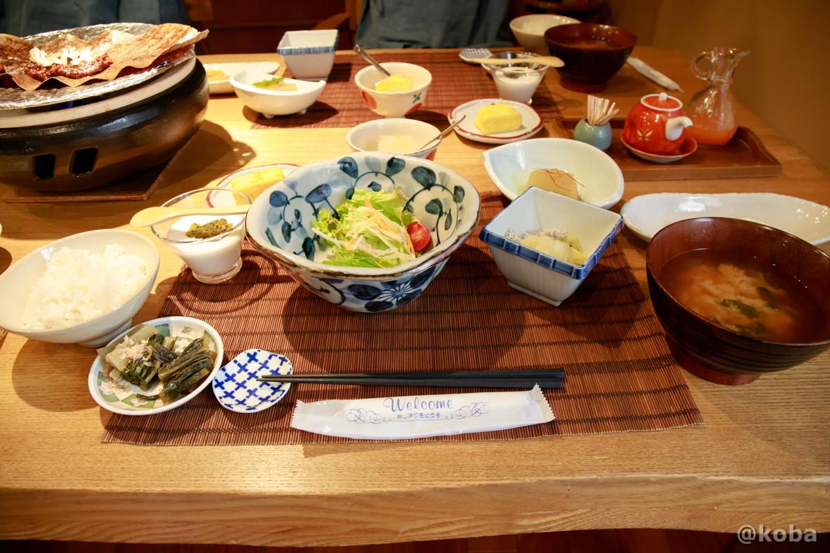 朝食の写真|内山峠 初谷温泉(うちやまとうげ しょやおんせん)|長野県佐久市