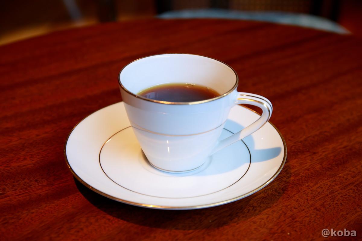 食後のコーヒーの写真|内山峠 初谷温泉(うちやまとうげ しょやおんせん)|長野県佐久市