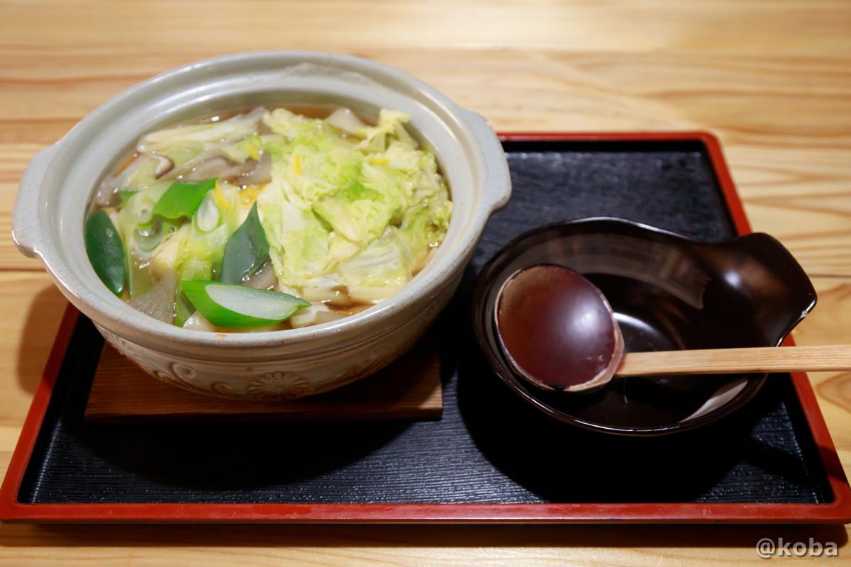 郷土料理 野菜たっぷり!おきりこみの写真 レストラン せせらぎ 星尾温泉 ランチ 群馬県