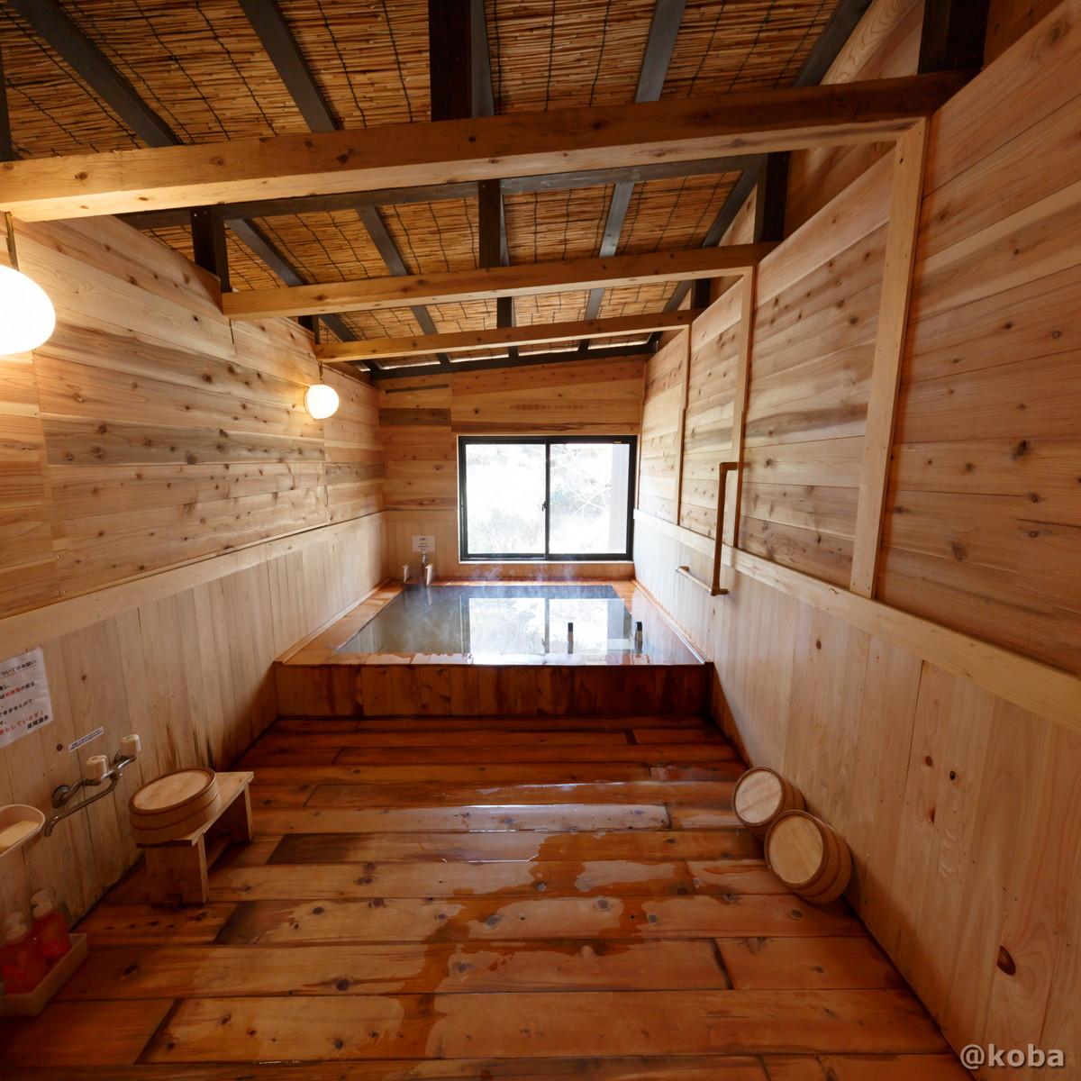 浴室の写真|日帰り入浴|星尾温泉 木の葉石の湯|群馬県