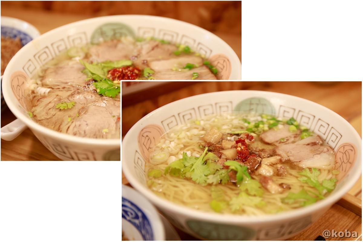 台南ラーメンの写真|赤丸(あかまる)ランチ 台湾料理店・ラーメン|東京都葛飾区・新小岩