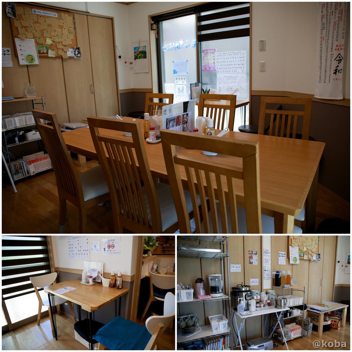 内観 テーブル席の写真|そらのすぷーん 定食屋|東京都葛飾区・奥戸