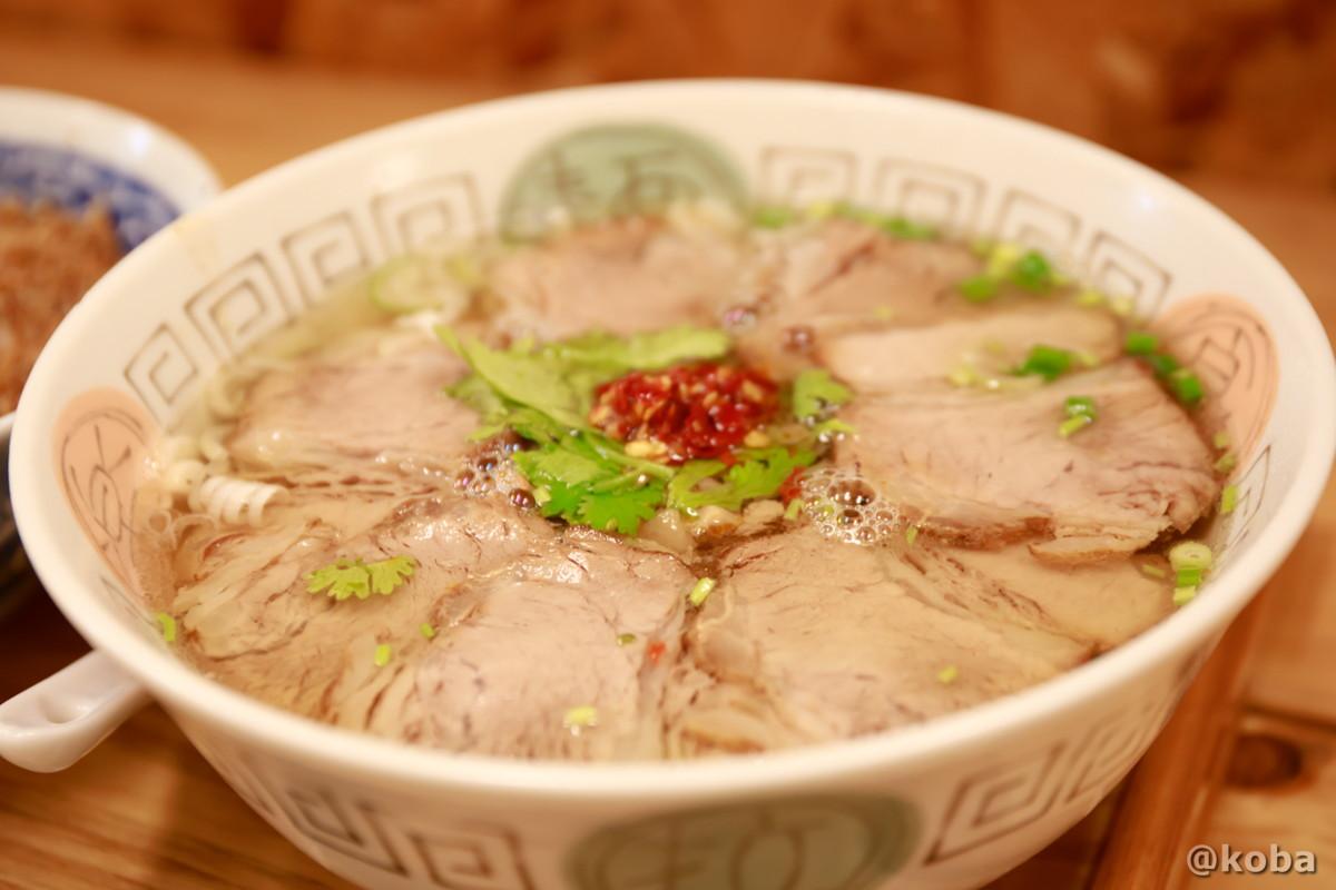 赤丸牛肉麵の写真|赤丸(あかまる)ランチ 台湾料理店・ラーメン|東京都葛飾区・新小岩