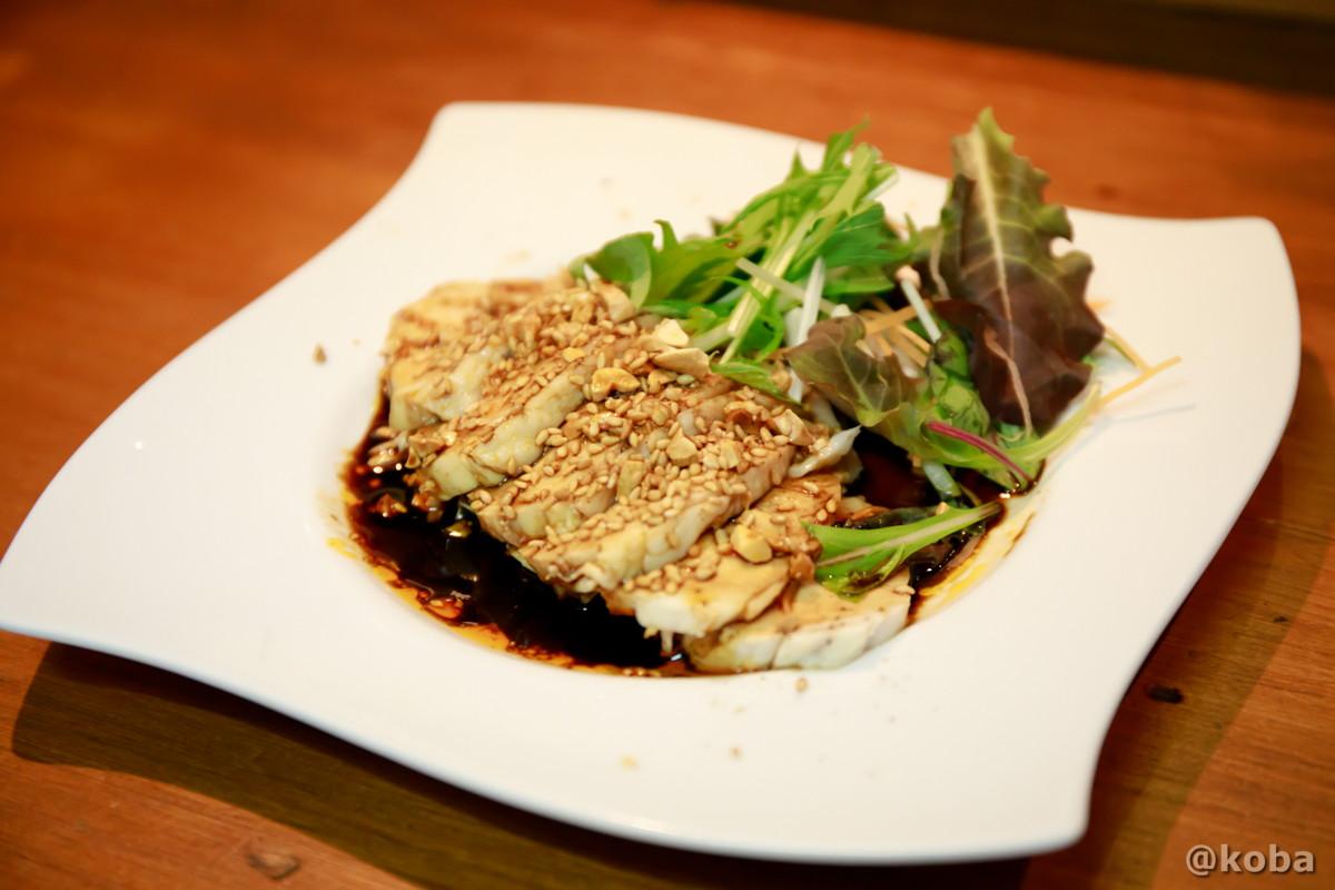 料理を思い出すとよだれでるほど美味しい、口水鶏(よだれ鶏)の写真丨菜香(さいこう)中華料理・四川料理